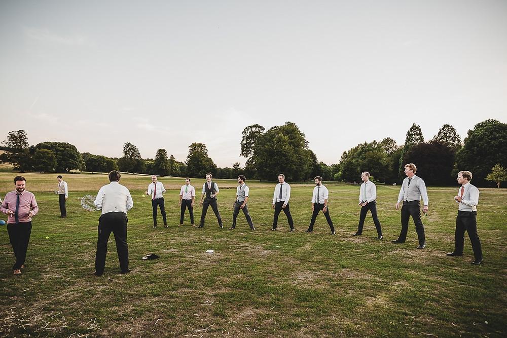 groomsmen, groom, wedding games