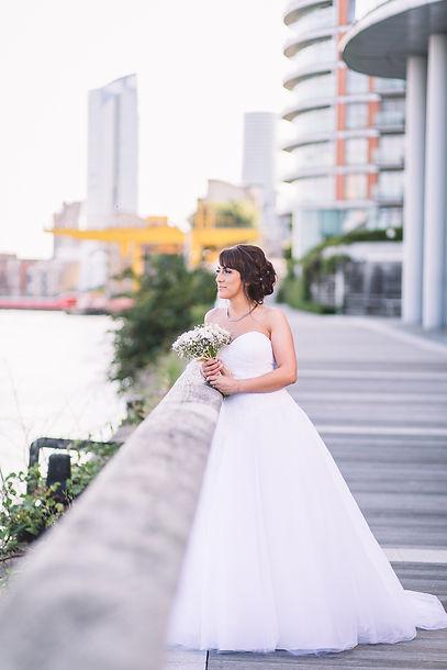 bride photo, uk wedding photographer, wedding photographer, multi cultural wedding, amazing wedding dress, weddings by martin sylvester, london wedding photography, new providence wharf hotel