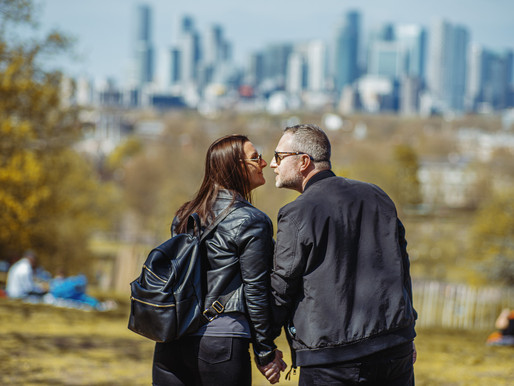 A South-East London Pre Wedding Shoot at Greenwich Park