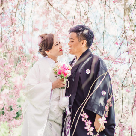 Which season is the best for your elopement wedding in Japan ?