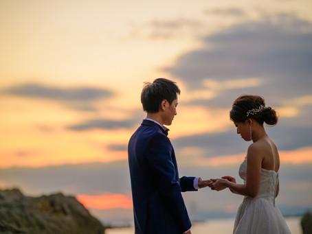 前撮りするなら・・二人だけの結婚式ができるチャンス!