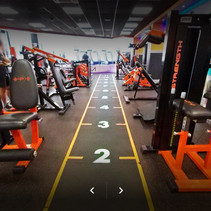 Physique Gym floor