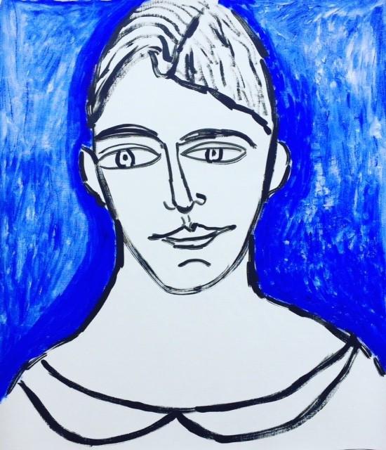 Blue Head