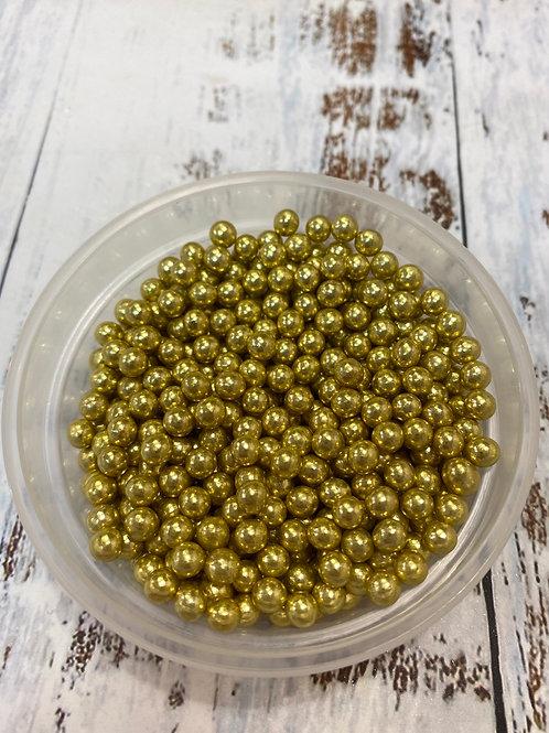 Посыпка золото металлик 3-4мм