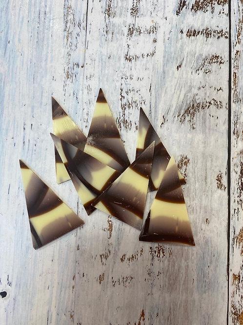 Шоколадные «Треугольники», Callebaut 10шт