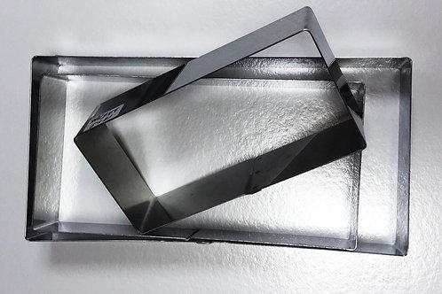 Форма резак прямоугольник 24*12 высота 5см