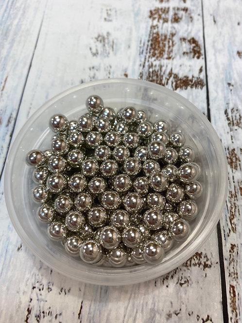 Посыпка серебро металлик  7мм