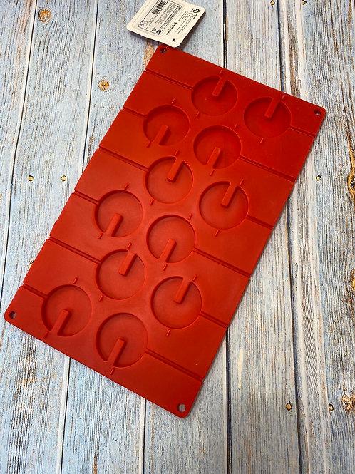 Форма силиконовая «Кувшинки» для леденцов и шоколада