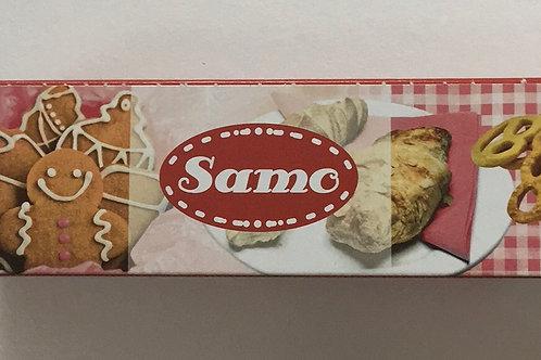 """Пергамент """"SAMO"""" коричневый в ролике 38 см 8 метров"""