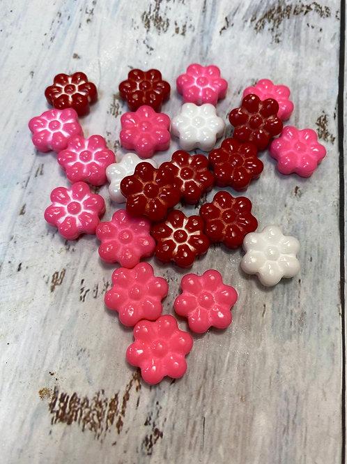 Посыпка конфетки Цветочки 1,7см