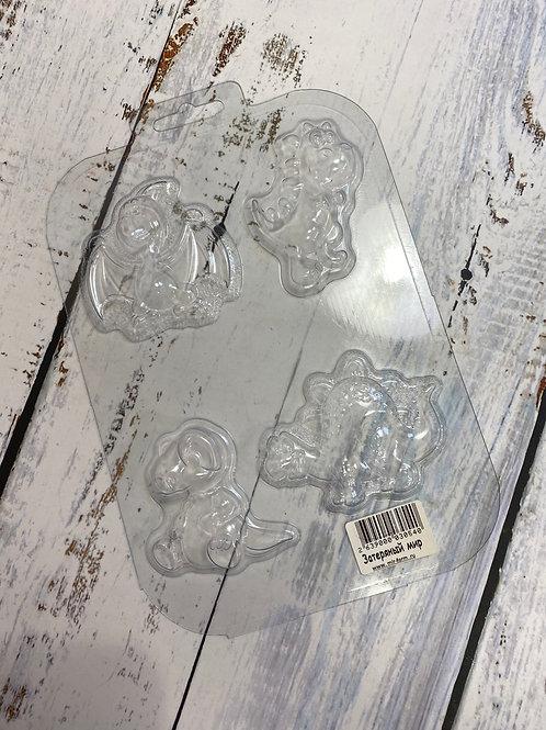 Пластиковая форма «Дино»