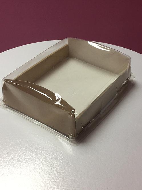 Коробка ECO с пластиковой крышкой
