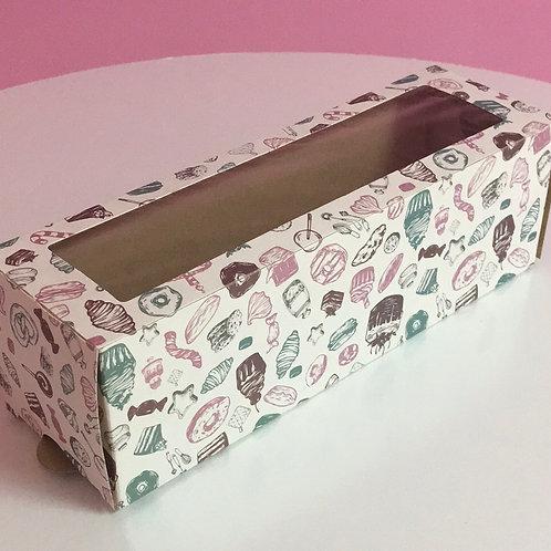 Коробка пенал для макаронс до 6 шт.