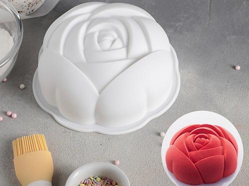 Форма силиконовая для торта «Роза» 17*5,5см