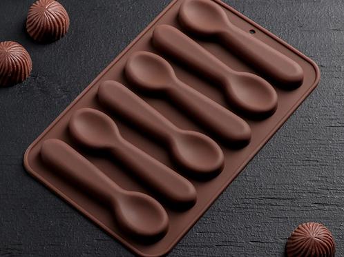 Форма силиконовая для шоколада «Ложка»
