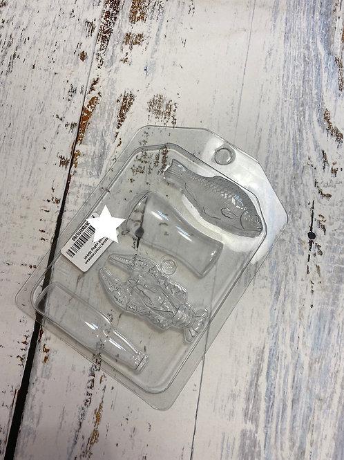 Пластиковая форма «Пивной набор мини»