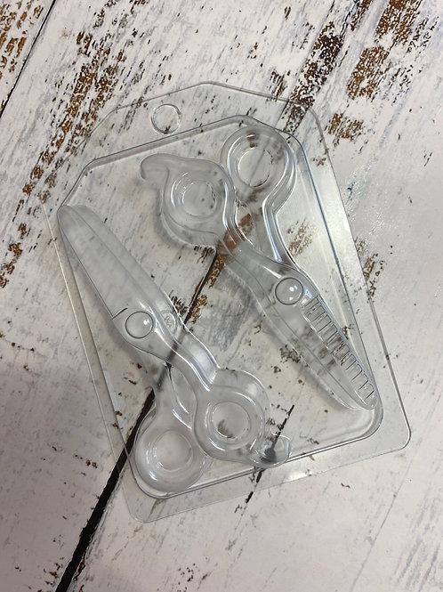 Пластиковая форма «Ножницы»