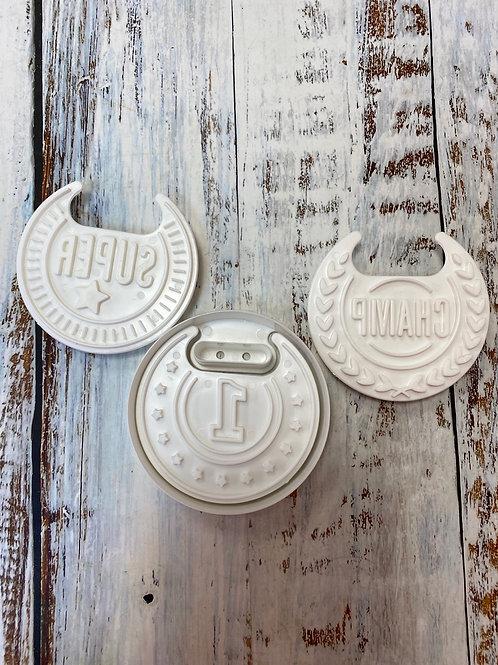 Набор вырубок Медаль (3 штампа и вырубка)