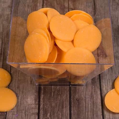 """Глазурь шоколадная """"Апельсин"""" дропсы оранжевые, 200гр"""