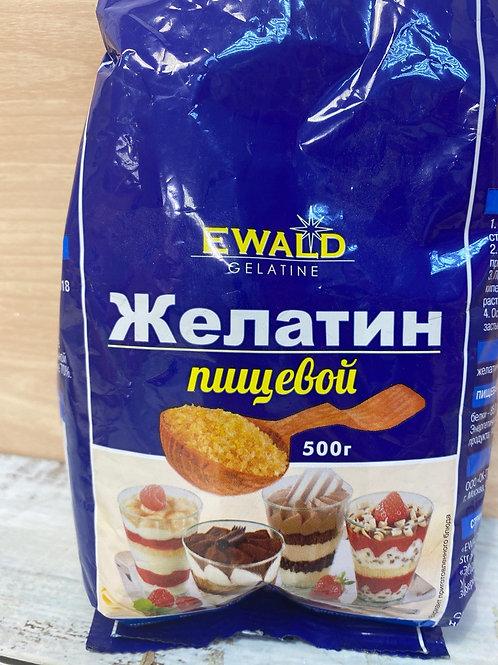 Желатин гранулированный пищевой Ewald,  50гр