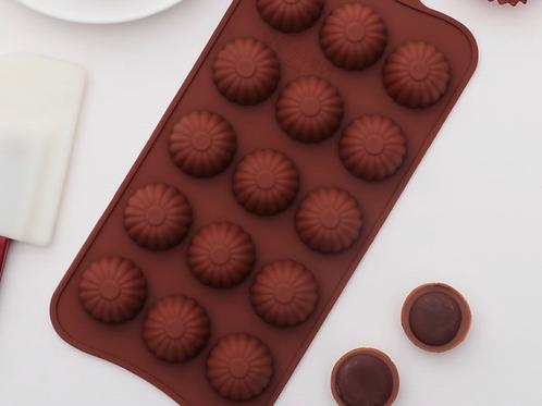 Форма силиконовая для шоколада «Конфетки»