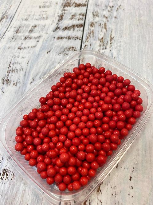 Посыпка сахарные шарики Красная 5мм