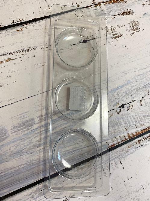 Пластиковая форма «Макаронс» 5см