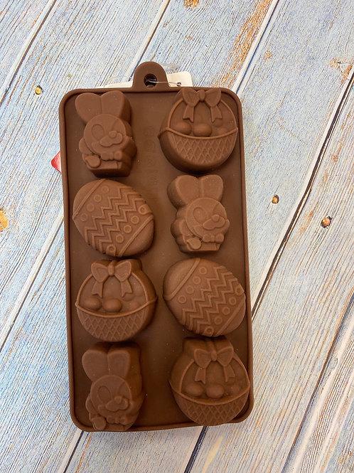 Форма силиконовая «Пасха» для леденцов и шоколада