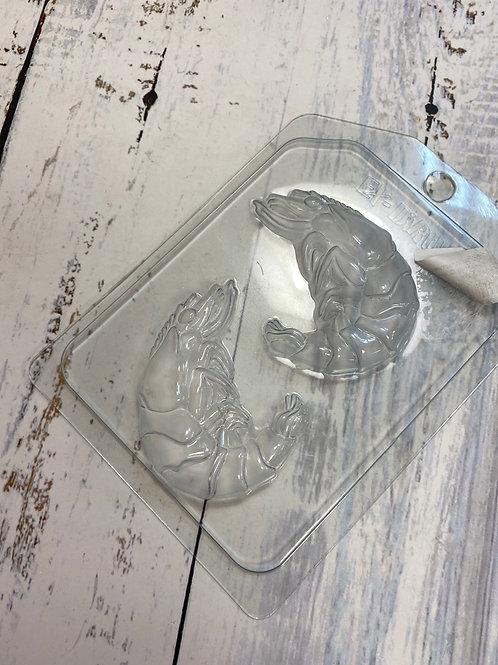 Пластиковая форма «Креветки»