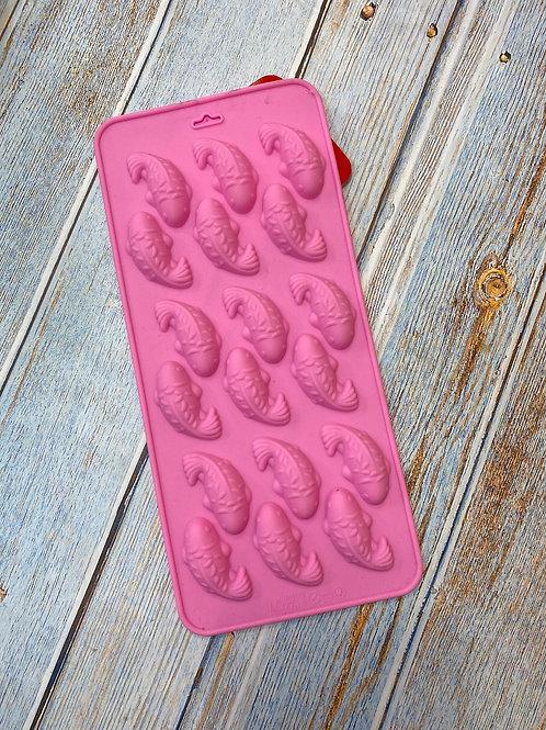 Форма силиконовая для шоколада и мармелада «Рыбки»