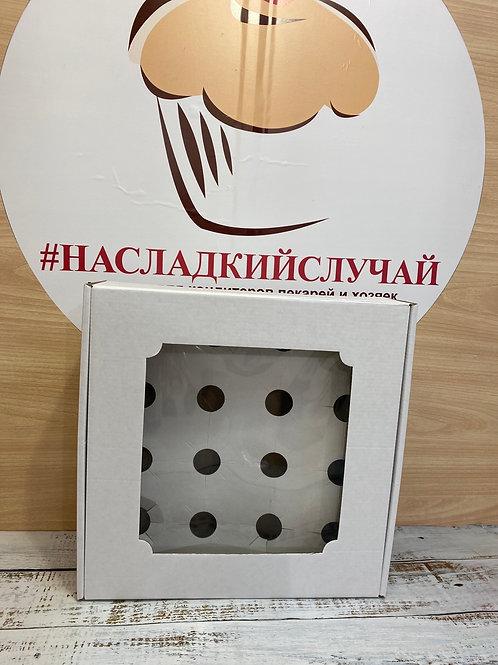 Коробка для верринов и трайфлов (плотная, на 16стаканчиков)