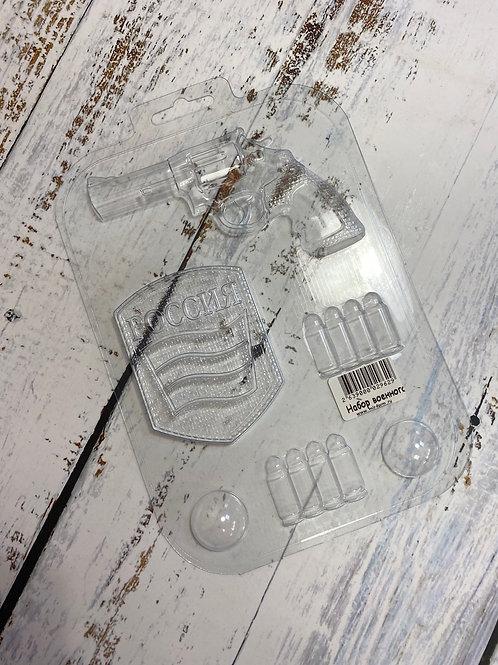 Пластиковая форма «Набор военного»