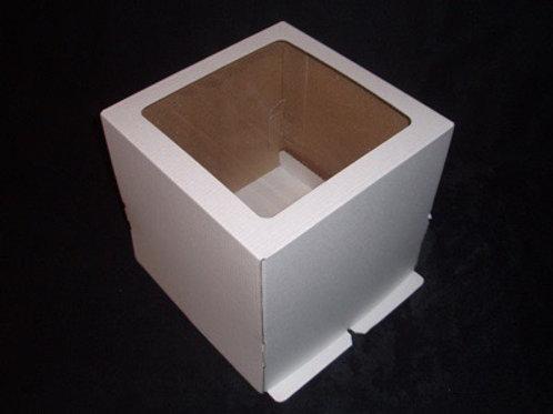 Коробка для торта 350x350x250 с окном