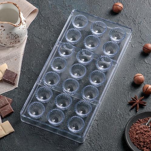 Форма для шоколада и конфет поликарбонатная