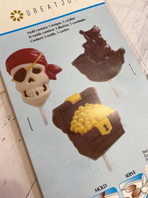 Пластиковая форма «Пираты»