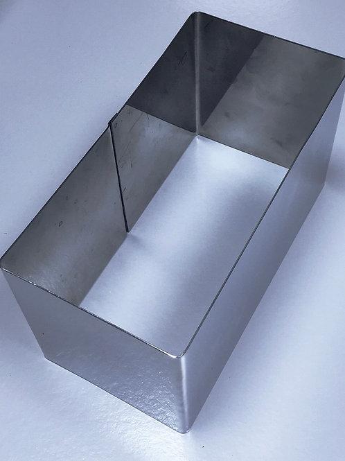 Форма резак прямоугольник 22*11 высота 12см