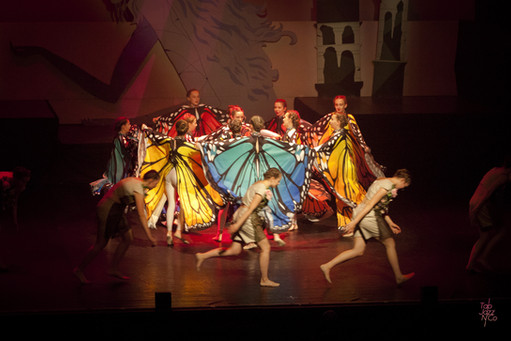 12/13 ans - Danse moderne - Spectacle 2019