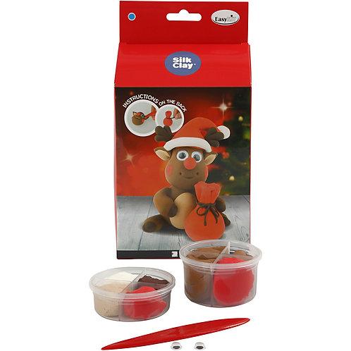 Silk Clay Reindeer Kit