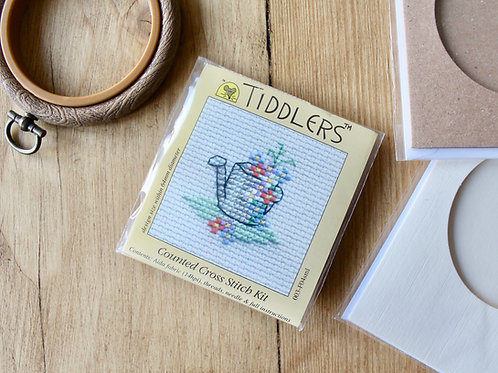 Watering can - Tiddlers Cross Stitch