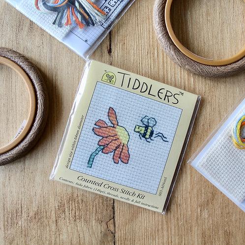Flower- Tiddlers Cross Stitch