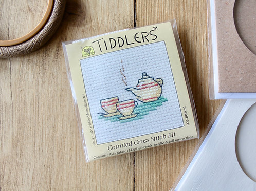 Tea pot - Tiddlers Cross Stitch