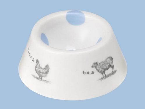 Farmyard Egg Cup - Blue