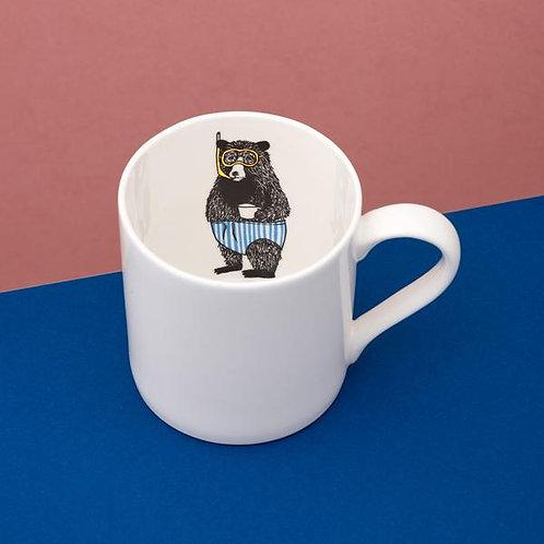 Mr Bear is inside your mug
