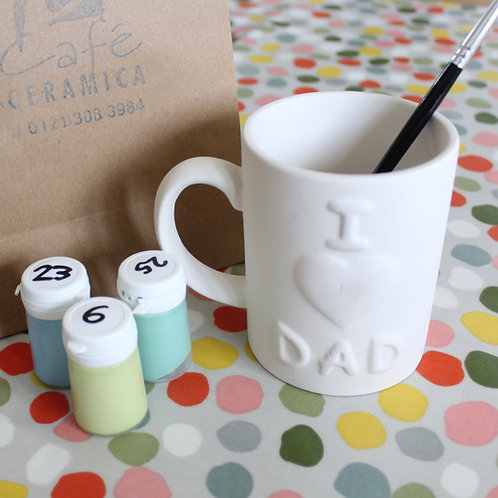 DAD Mug Painting Kit