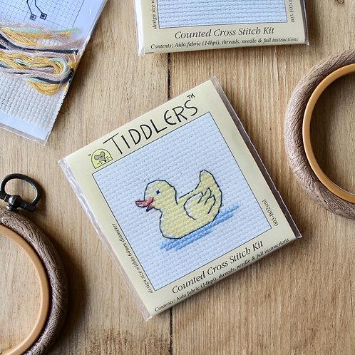 Duck- Tiddlers Cross Stitch