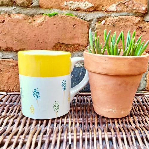 Grape Hyacinth Mug - Workshop Kit
