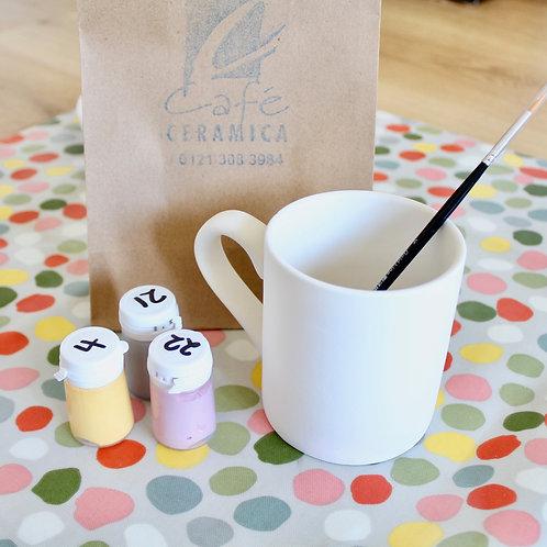 Mug painting kit