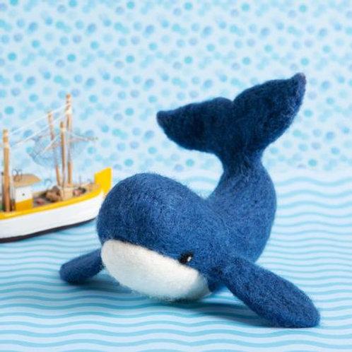 Whale Needlefelt kit