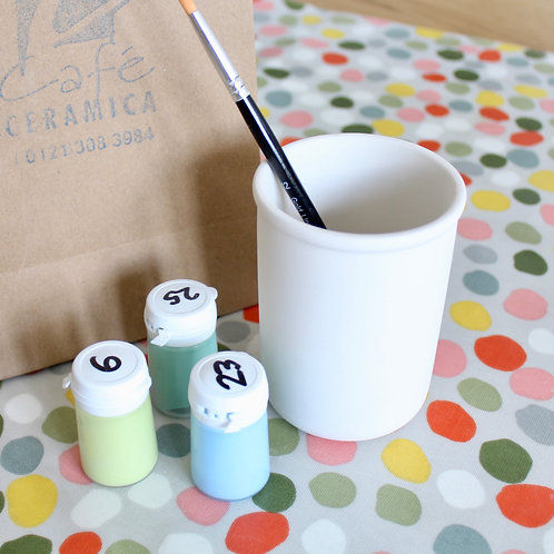 Pencil Pot Painting Kit