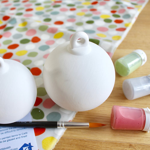 Standing Bauble Painting Kit - Large